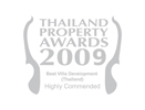 Thailand Property Awards Best Villa Development