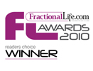 Fractional Life Readers Choice Award