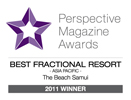 Perspective Magazine Awards Best Fractional Resort