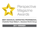 Perspective Magazine Awards Best Marketing Professional